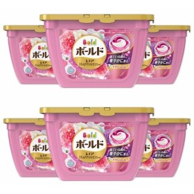 ボールド 洗濯洗剤 ジェルボール3D 癒しのプレミアムブロッサムの香り 本体 18個×6