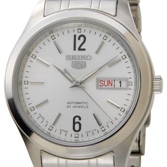 セイコー SEIKO SEIKO5 セイコー5 セイコーファイブ 腕時計 自動巻き SNKM53J シルバー メンズ セイコーウオッチ ブランド