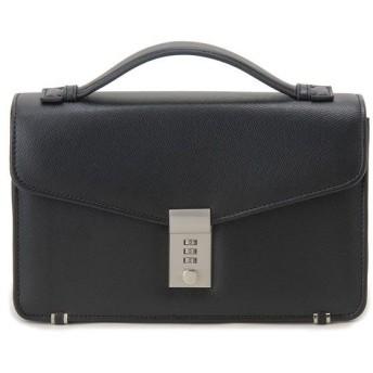 モンテスピガ MONTE SPIGA セカンドバッグ ビジネスバッグ ブラック メンズ フェイクレザー ブランド