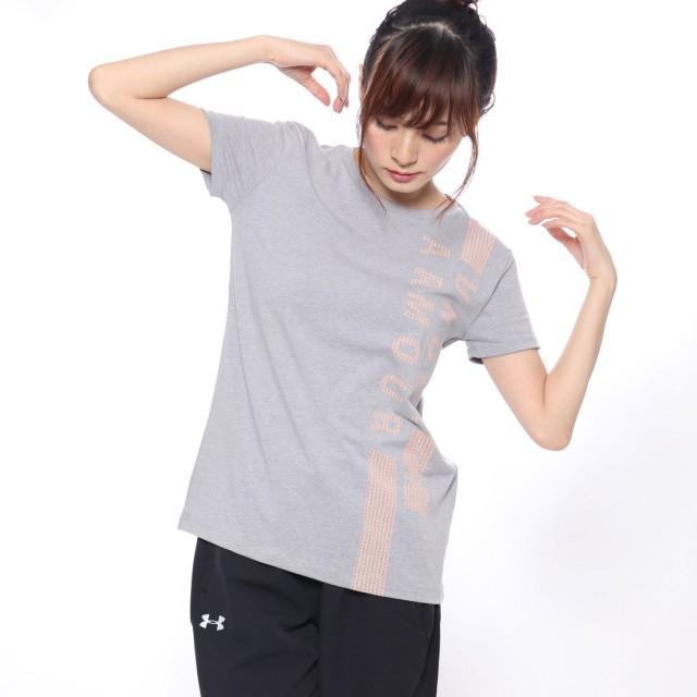 アンダーアーマー UNDER ARMOUR レディース フィットネス 半袖Tシャツ UA Graphic Classic Crew VERTICAL WM 1321146