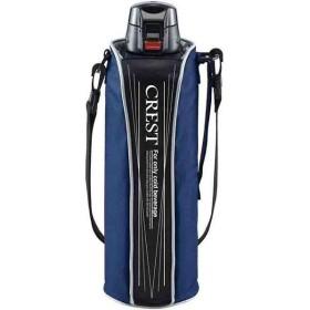 タフコ:ワンタッチスポーツボトル クレスト 1.5L ブルー F-2675