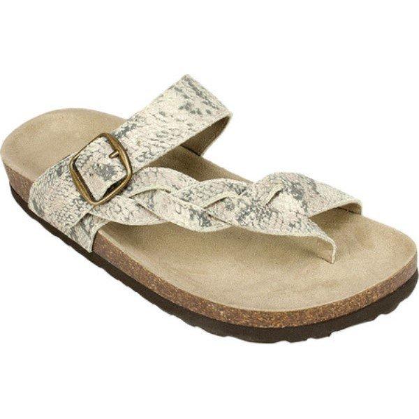 イーストランド シューズ レディース サンダル Tiogo Toe Loop Sandal Sandstone Nubuck