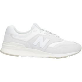 《9/20まで! 限定セール開催中》NEW BALANCE メンズ スニーカー&テニスシューズ(ローカット) ホワイト 7 革 / 紡績繊維