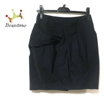 グレースコンチネンタル GRACE CONTINENTAL スカート サイズ38 M レディース 美品 黒 値下げ 20190918