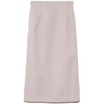 ミラオーウェン Mila Owen ウエストシャーリングタイトスカート (アイボリー)