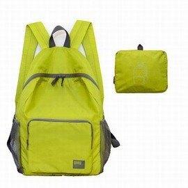 【攜型折疊雙肩包-尼龍三分格-40*30*15cm-1套/組】可折疊式雙肩包背包旅行包雙肩包超輕防水運動休閑包沖頂包-76013