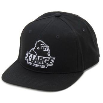 エクストララージ XLARGE キャップ 帽子 OLD OG 6 PANEL CAP ブラック