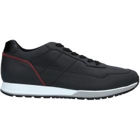 《セール開催中》HOGAN メンズ スニーカー&テニスシューズ(ローカット) ブラック 6 革 100%