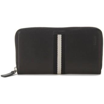 バリー BALLY 財布 ブラック TASYO-290 ラウンドファスナー 長財布【送料無料】