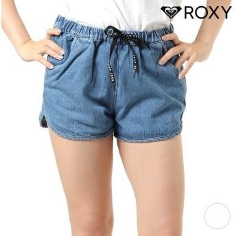 レディース ショートパンツ ROXY ロキシー RPT192024 ハイウエスト パンツ LINE UP PANTS ショーツ デニム GX2 F26