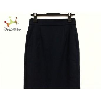 ブレンへイム BLENHEIM ロングスカート サイズM レディース 美品 ダークネイビー スペシャル特価 20190831