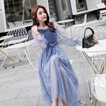レディース ワンピース トレンド カジュアル 韓國ファッション 人気 気質