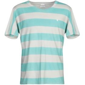 《期間限定 セール開催中》CYCLE メンズ T シャツ ターコイズブルー L コットン 100%