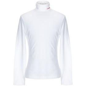 《セール開催中》CALVIN KLEIN 205W39NYC メンズ T シャツ ホワイト L コットン 90% / ポリウレタン 10%