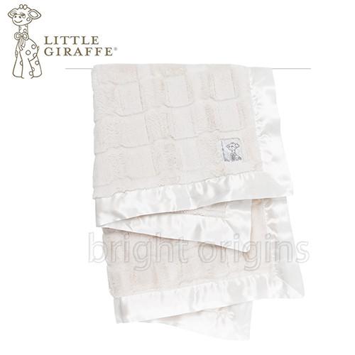little giraffe 奢華夢幻嬰兒毯 粉色