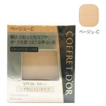 カネボウ COFFRET DO'R コフレドール ビューティオーラ パクトUV ベージュ-C 9.5g