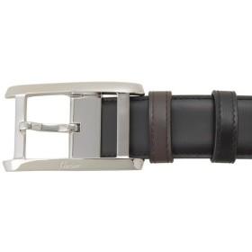 カルティエ Cartier ベルト 5000058 ブラック×ボルドー メンズ ブランド