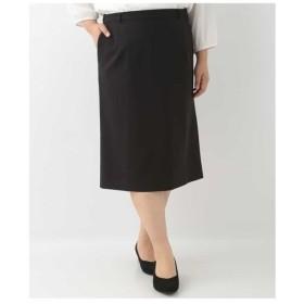 eur3 / 【大きいサイズ】ベーシックデザインストレートスカート