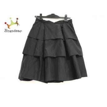 ボディドレッシングデラックス スカート サイズ36 S レディース 美品 黒 フリル 新着 20190625