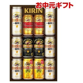 お中元 ギフト エコ包装 キリン K-IPCF3 一番搾り4種のみくらべセット 超芳醇、黒ビール入り 350ml 12本 夏贈 ビール ビールギフト 飲み比べ