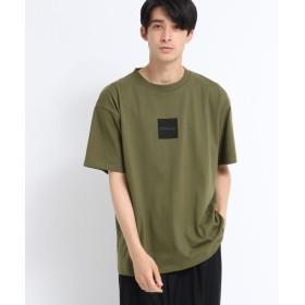 ティーケー タケオキクチ Kappa for tk. TAKEO KIKUCHI ボックスロゴTシャツ メンズ カーキ(027) 02(M) 【tk. TAKEO KIKUCHI】