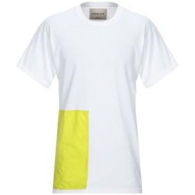 《期間限定セール開催中!》CORELATE メンズ T シャツ ホワイト S コットン 100%
