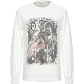 《セール開催中》ATHLETIC VINTAGE メンズ スウェットシャツ アイボリー M コットン 100%