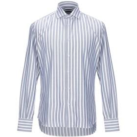 《期間限定セール開催中!》J.W. SAX Milano メンズ シャツ ダークブルー 38 コットン 100%