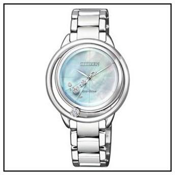 シチズン L ソーラー 時計 レディース 腕時計 EW5521-81D