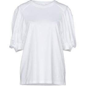 《期間限定セール開催中!》CHLO レディース T シャツ ホワイト M コットン 100%