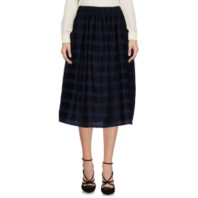《送料無料》NEERU KUMAR レディース 7分丈スカート ダークブルー S ウール 100%
