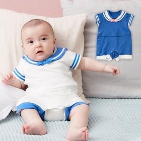 12536e16a61e5f ベビー 服 Kids zoo セーラーカバーオール ベビー用品 赤ちゃん ベビー服 男の子 女の子 おとこのこ おんな