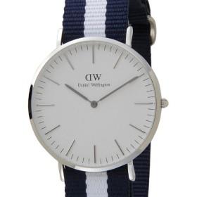 Daniel Wellington ダニエルウェリントン クラシック グラスゴー 40mm DW00100018 ホワイト/シルバー/ネイビー メンズ/レディース 時計