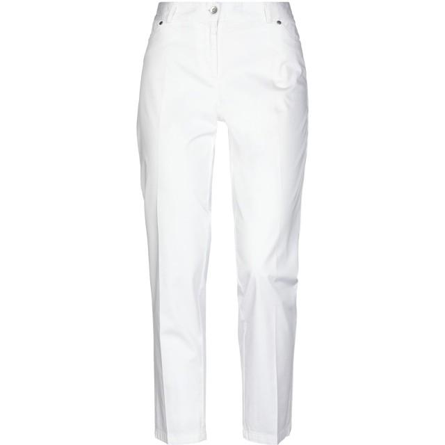 《セール開催中》BLUKEY レディース パンツ ホワイト 46 コットン 97% / ポリウレタン 3%