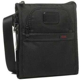 TUMI ショルダーバッグ 22110 BK トゥミ アルファ2 ポケットバッグ スモール ブラック 5,400円以上で送料無料