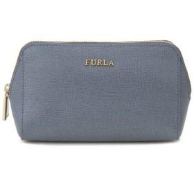 フルラ FURLA ポーチ 856588 ELECTRA エレクトラ コスメポーチ 化粧ポーチ 小物入れ ブルー