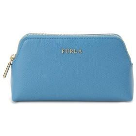 フルラ ポーチ 790601 コスメ 化粧 ポーチ FURLA EI55 ISABELLE ターコイズ ブルー