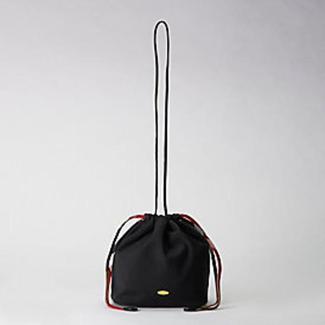 【ブルーレーベル・クレストブリッジ 】クレストブリッジチェックソフトツイル巾着バッグ