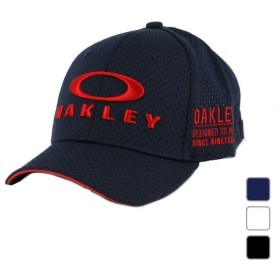 オークリー メンズ ゴルフ キャップ BG FIXED 912128-100 OAKLEY