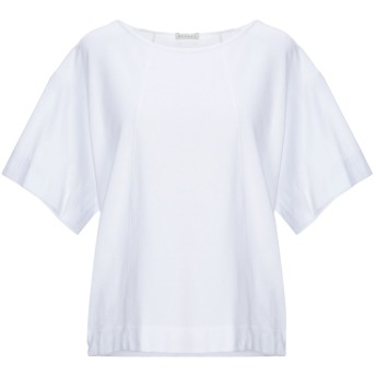 《期間限定 セール開催中》BLUKEY レディース T シャツ ホワイト 42 コットン 100%