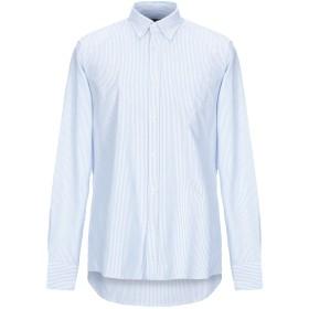 《セール開催中》J.W. SAX Milano メンズ シャツ スカイブルー S コットン 100%