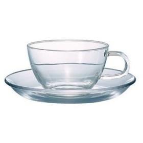 耐熱ティーカップ&ソーサー