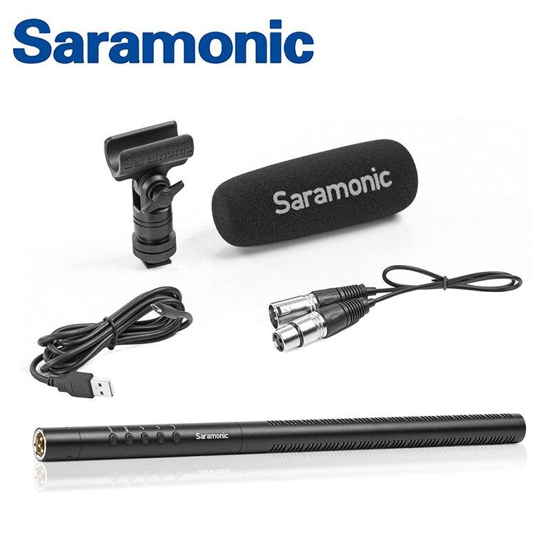◎相機專家◎ Saramonic 超心型指向式XLR槍型麥克風 SR-TM7 廣播級 收音錄影 直播 卡農接頭 勝興公司貨