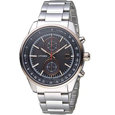 CITIZEN星辰BRAVE BLOSSOMS限量計時光動能手錶(CA7034-61E)