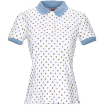 《期間限定セール開催中!》JECKERSON レディース ポロシャツ ホワイト XS コットン 95% / ポリウレタン 5%