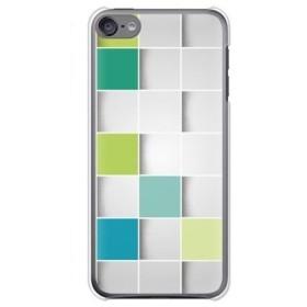 ガールズネオ apple iPod touch 第6世代 ケース (カラーブロック/グリーン) Apple iPodtouch6-PC-TAR-1453