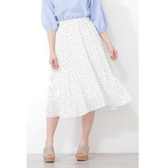 PROPORTION BODY DRESSING / プロポーションボディドレッシング  ミニドットプリーツスカート