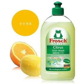 旭化成ホームプロダクツ フロッシュ 食器用洗剤 シトラス 500ml <手肌が気になる方に> (この商品は注文後のキャンセルができません)