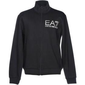 《期間限定 セール開催中》EA7 メンズ スウェットシャツ ブラック S コットン 80% / ポリエステル 20%