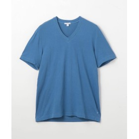 トゥモローランド コットン VネックTシャツ MLJ3352 メンズ 65ブルー 0(S) 【TOMORROWLAND】